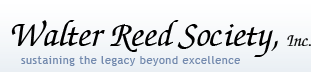 Walter Reed Society, Inc. - Sustaining the Legacy Beyond Excellence
